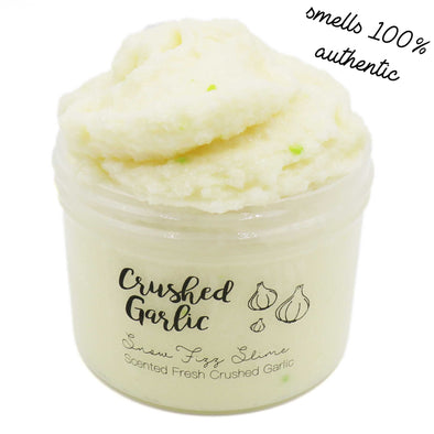 Crushed Garlic Yellow Snow Fizz Crunchy Slime Fantasies 8oz Front View