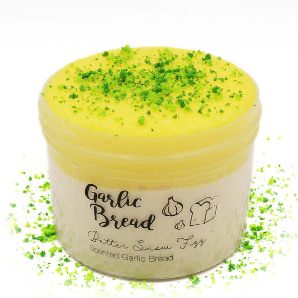 Garlic Bread Snow Fizz Butter Savory Slime Fantasies 8oz Front View