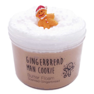 Gingerbread Man Cookie Butter Floam