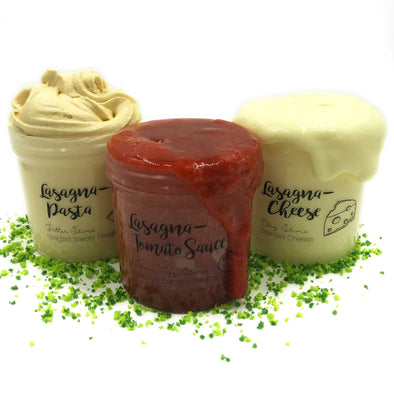 Lasagna Savory Slime Bundle All 3 Slimes