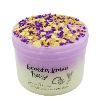 Lavender Lemon Freeze Jelly Slime
