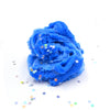 Midnight Snow Storm Blue Icee Glitter Christmas Slime Fantasies Shop 8oz Unboxed