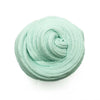 Mint Oreo Ice Cream Green Butter Slime Swirl Top View