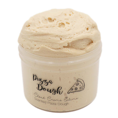 Pizza Dough Beige Cloud Creme Butter Savory Slime Fantasies 8oz Front View