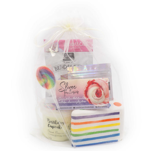 Birthday Slime Gift Set Tool Kit
