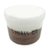 Smores Chocolate Marshmallow Slay Butter Slime 8oz Leveled Front View