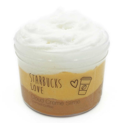 Starbucks Love Cloud Creme Slime