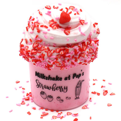 Strawberry Milkshake At Pops Diy Slime