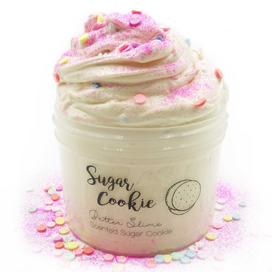 Sugar Cookie Rainbow Pink Butter Slime Fantasies 8oz Front View
