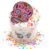 Sugar Skull Dia De Los Muertos Butter Rainbow Sprinkles Fall Halloween Slime Fantasies Shop 8oz Front View