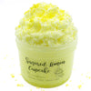 Sugared Lemon Cupcake Yellow Microfloam Crunchy Slime Fantasies 8oz Front View