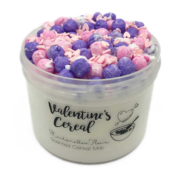 Valentines Cereal Marshmallow Bead Floam