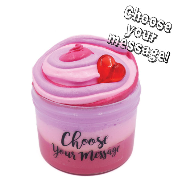 Valentines Message Butter Slime