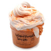 Whipped Pumpkin Spice Latte Layered Butter Floam Fall Halloween Slime Fantasies Shop 8oz Front View