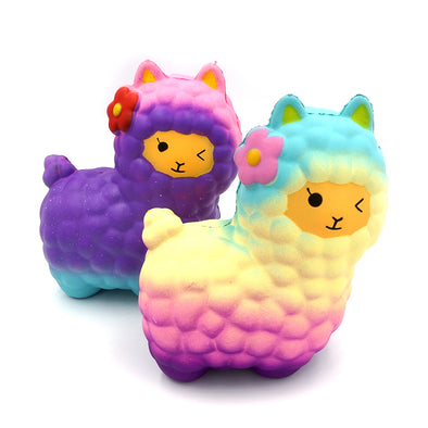 Alpaca Slow Rising Squishies Two Colors