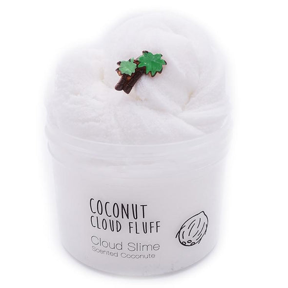 Rainbow Cloud Slime Collection Coconut (White)