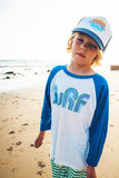 Boys Retro Surf Baseball Tee