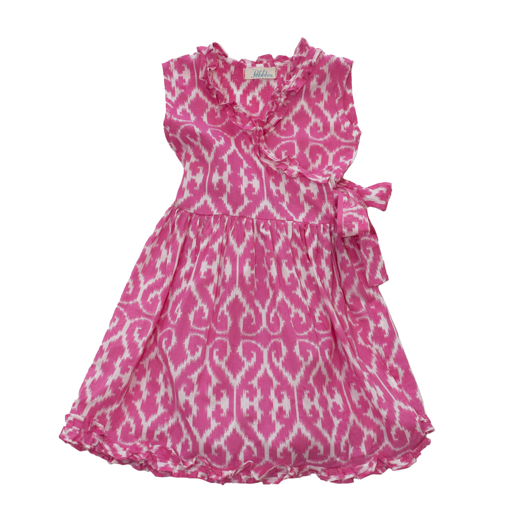 Girls Winslow Wrap Dress