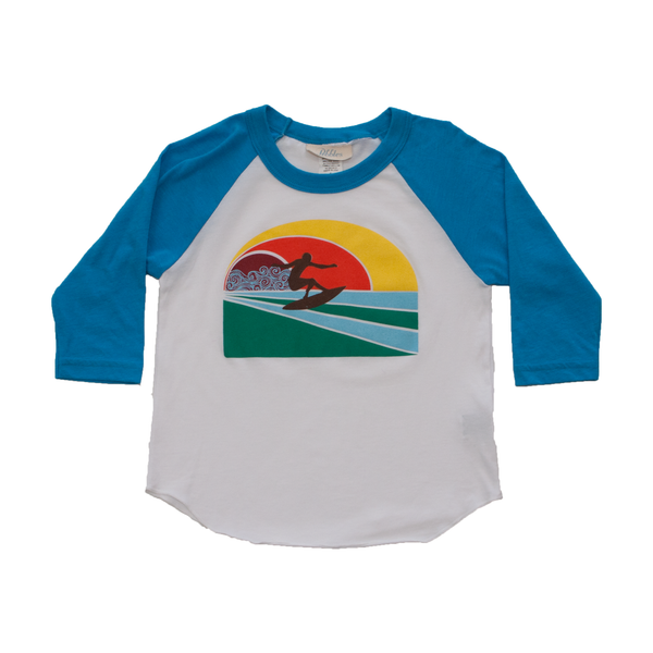 Infant Boys Surf Rider Baseball Tee