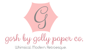 Gosh by Golly Paper Co.