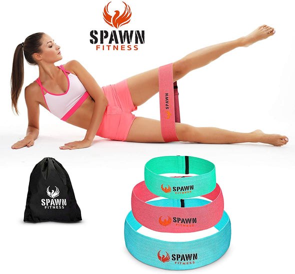 Resistant hip bands Set of 3