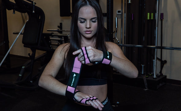 Cross Training Workout Gloves With Wrist Support Grip | For Fitness & No Calluses  Workout gloves with wrist support and strong grip for lifting more and without calluses or injuries. Optimal for weightlifting, Cross-Fit, and many other workouts and fitness routines.
