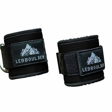 Ankle Straps for Cable Machine and Resistance - Black