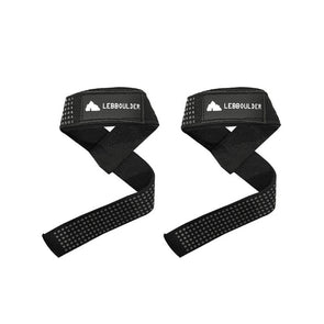 Weightlifting Straps with Silicone Dots for Non-Slip Grip | Best Wrist Support | Deadlift Straps for Weight Lifting, Bodybuilding, Powerlifting | Then grip the bar over the strap. No more uncomfortable and slipping straps while heavy lifting! The padded wrist support helps keep the strap from cutting off blood flow to your hand.
