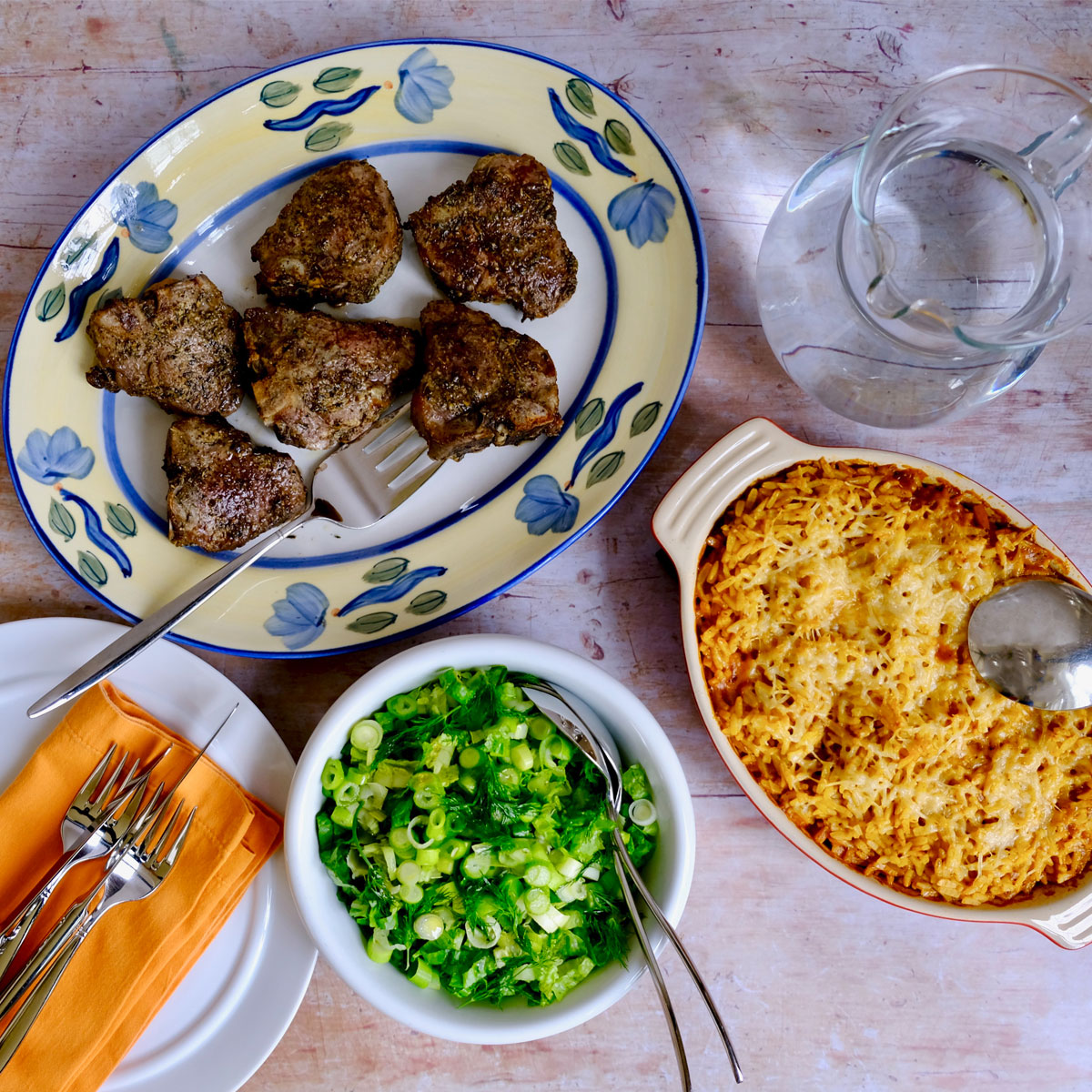 3 Quick Recipes for a  Tasty Greek Easter for Two