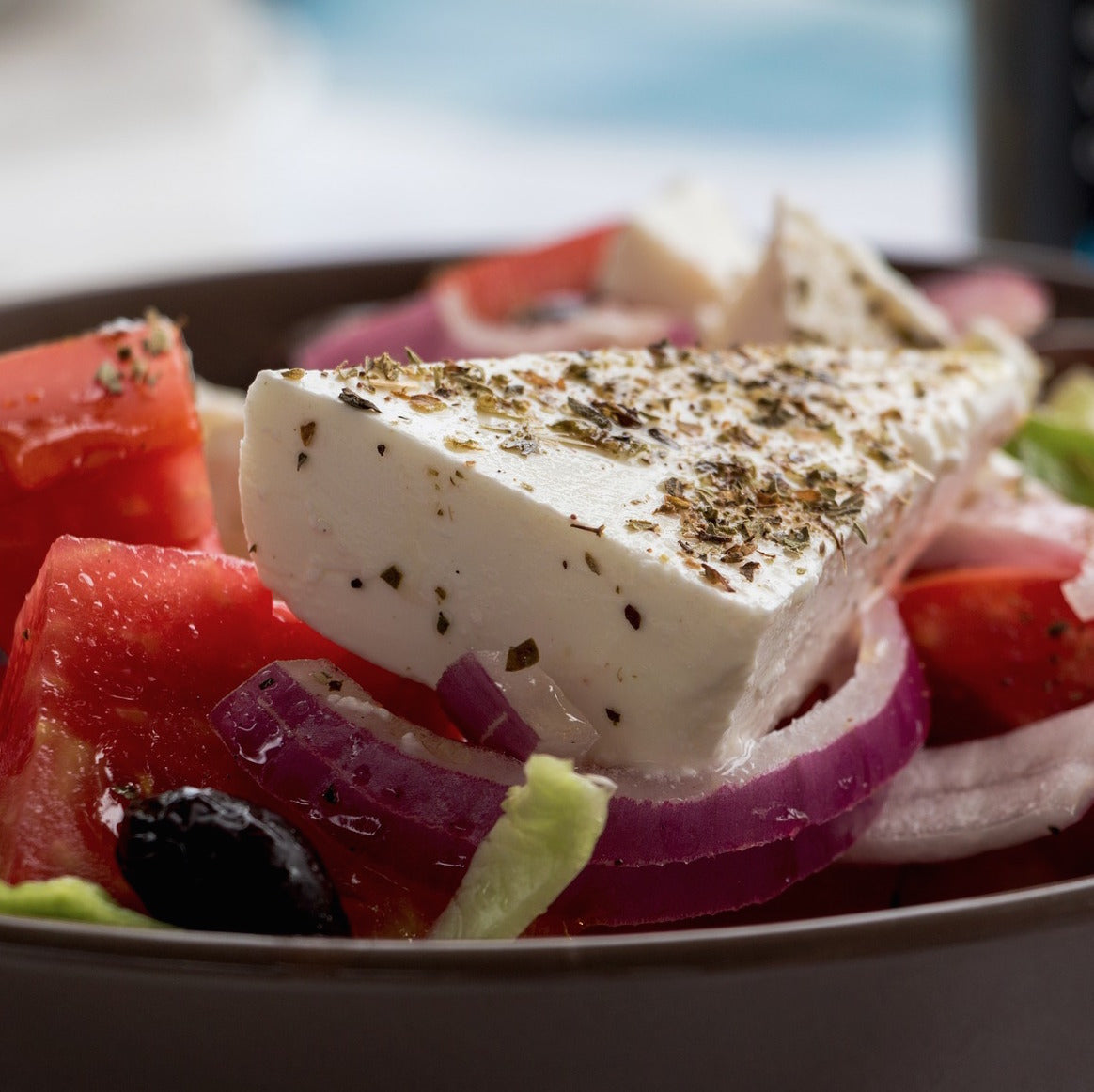 The REAL Greek Salad! Traditional Recipe For The Hot Summer
