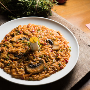 Agrozimi spelt orzo, all-natural artisanal Greek pasta kritharaki