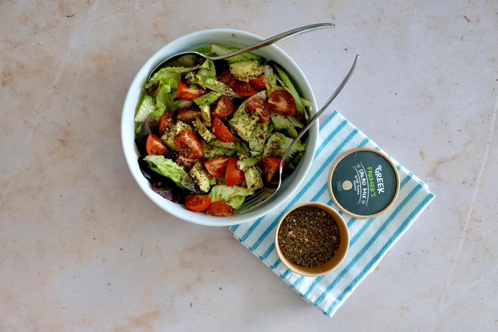 Sparoza handcrafted all natural Farmer's Salad mix