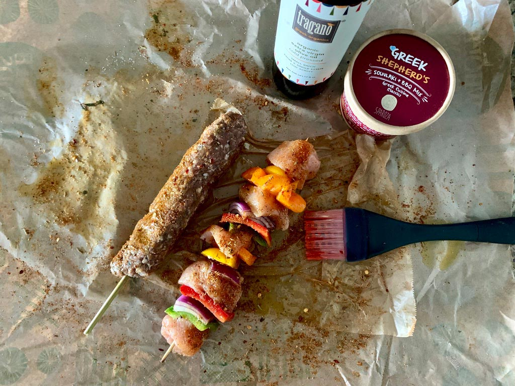 greek souvlaki and barbeque all natural handcrafted cooking mix