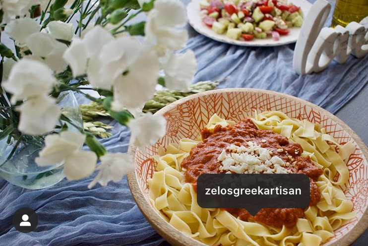 Zelos Greek Artisan gourmet dinner