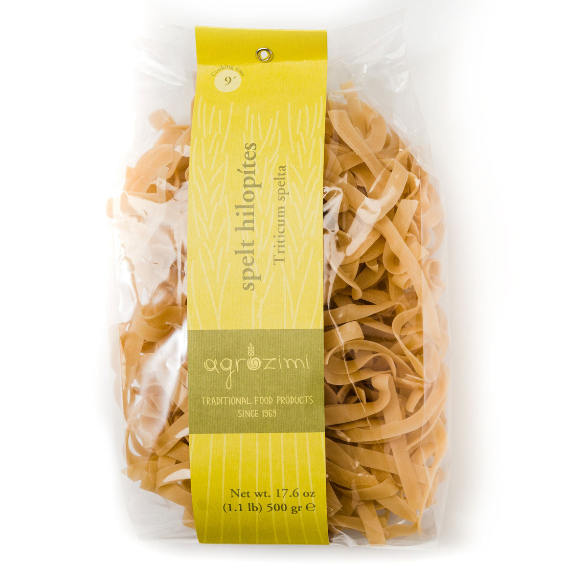 Agrozimi Traditional Spelt Hilopites - All-natural Artisanal Pasta