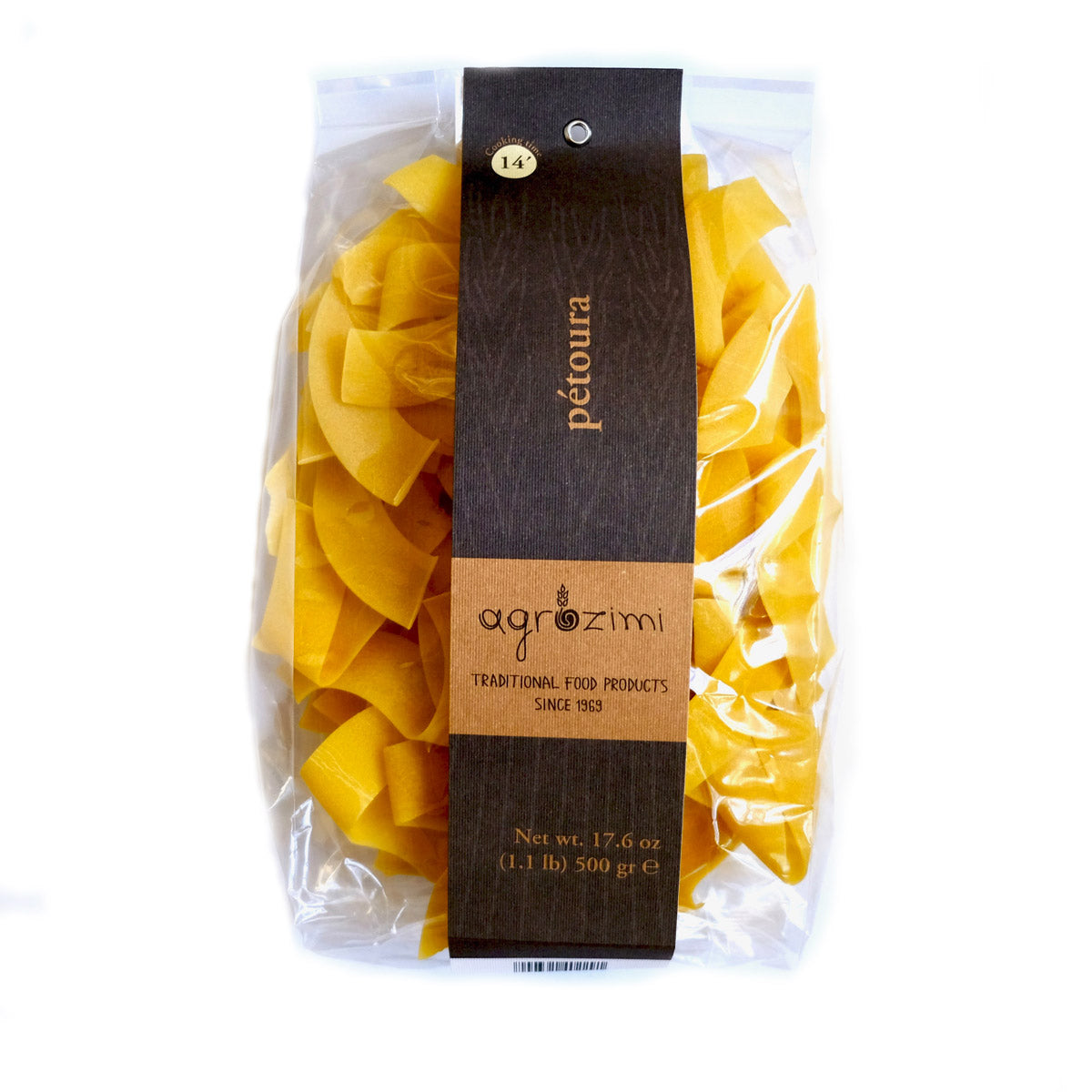 Agrozimi Egg & Milk Petoura All-natural Traditional Greek Pappardelle