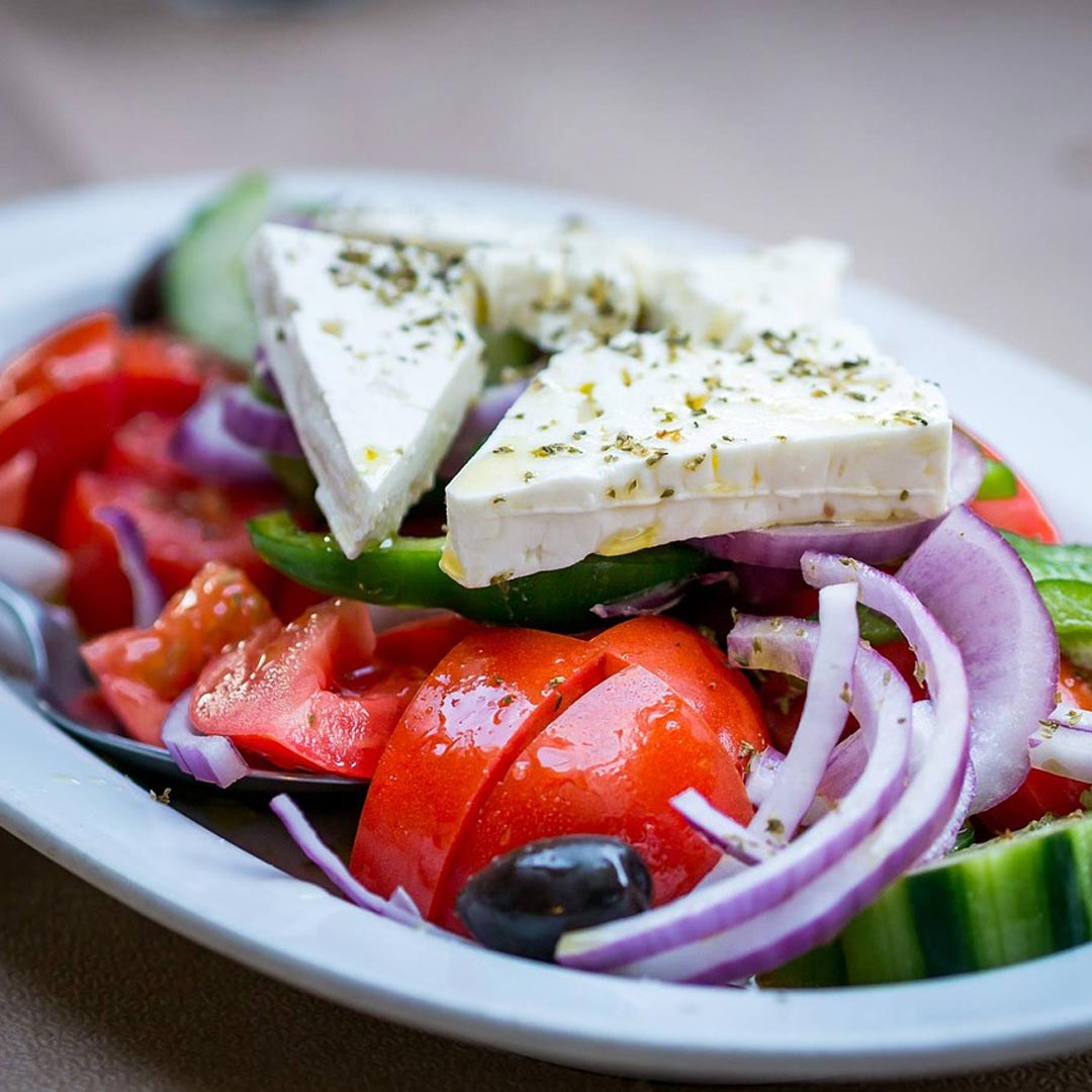 The Authentic Greek Salad Set from Zelos Authentic Greek Artisan