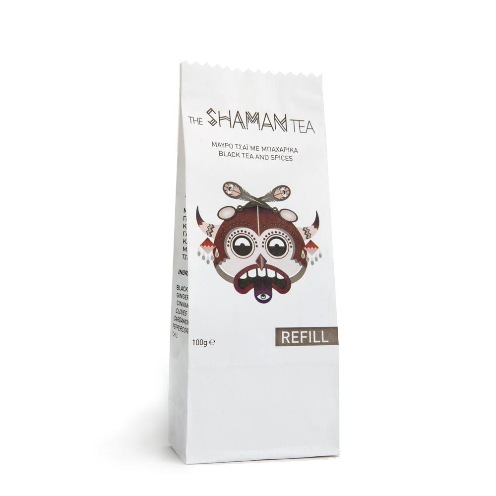 Sparoza - The Shaman Tea Refill - Handcrafted Loose Leaf Spiced Black Tea