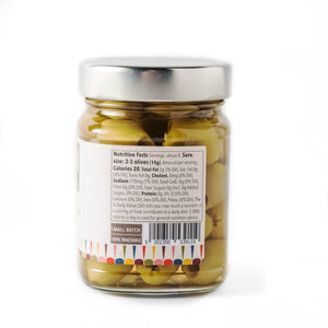 Tragano Greek Organic Green Olives, Pitted