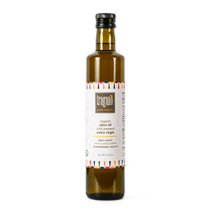 Premium Organic Extra Virgin Olive Oil from Tragano Greek Organics