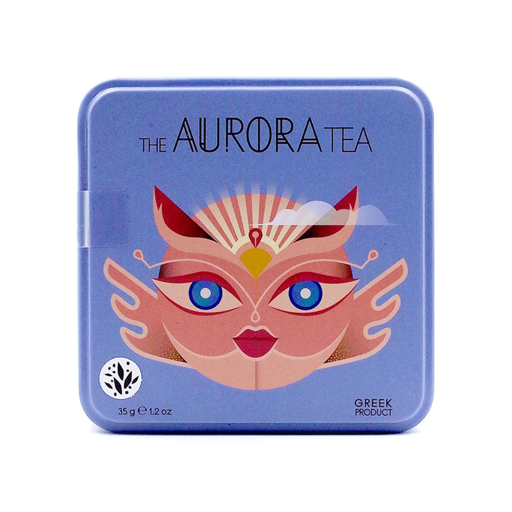 Sparoza - The Aurora Tea - Handcrafted Loose Leaf Greek Mountain Tea & Herbs