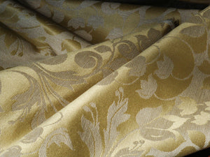 Damask, natural fiber, tonal fabric by Coarse Cloth Ltd.