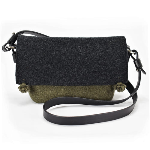 Compass Handbag - Alpine / Onyx
