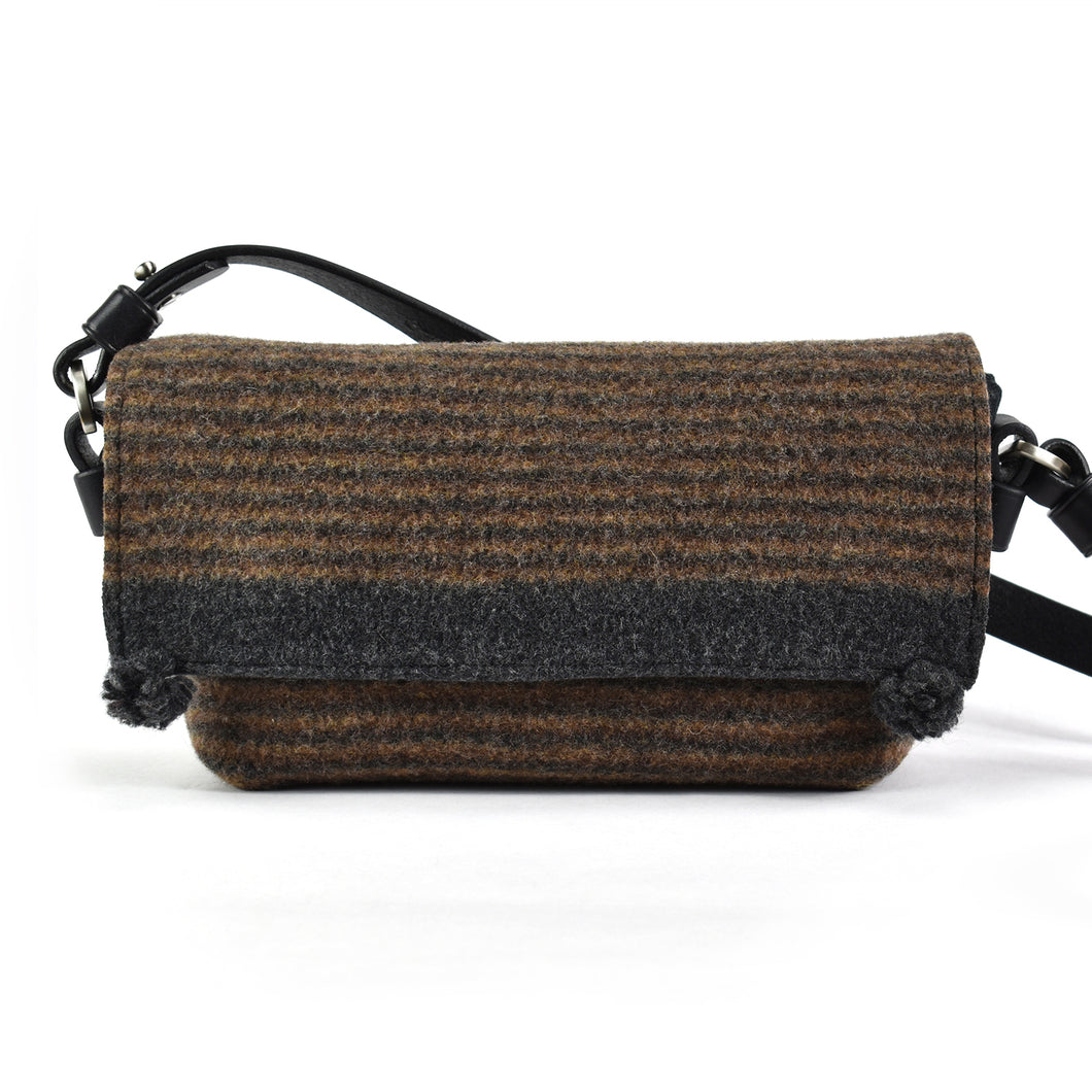Compass Handbag - Earth Multistripe