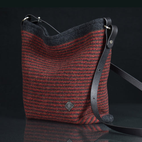 Explorer Handbag - Flame Multi Stripe
