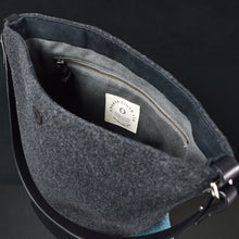 The Explorer Handbag in Ocean - Bag Interior.