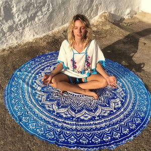 Lotus Roundie Blanket - Shopaxy