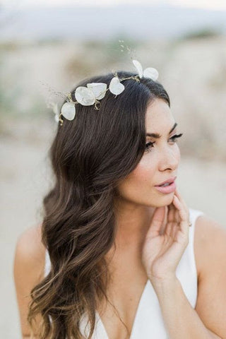 Bridal flowy curls june avenue