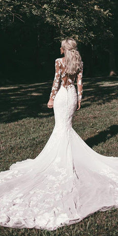 Stunning Lace Wedding Dress June Avenue