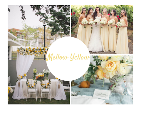 Mellow Yellow wedding theme by June Avenue
